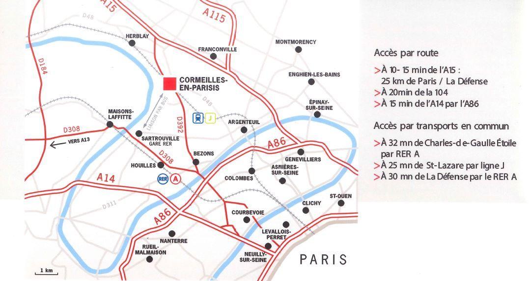 local d'activités de 2280m², Cormeilles-en-Parisis (Val-d'Oise)