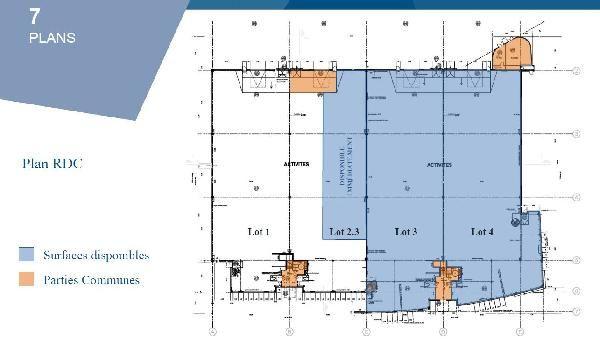 entrepôt de 1711m², Lieusaint (Seine-et-Marne)