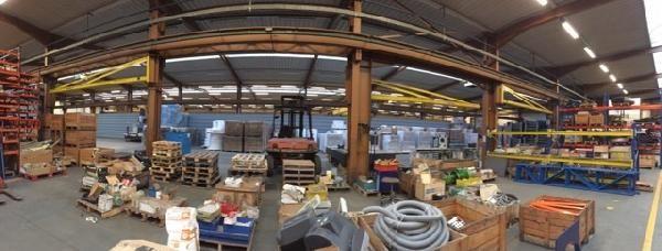 entrepôt de 2100m², Gonesse (Val-d'Oise)
