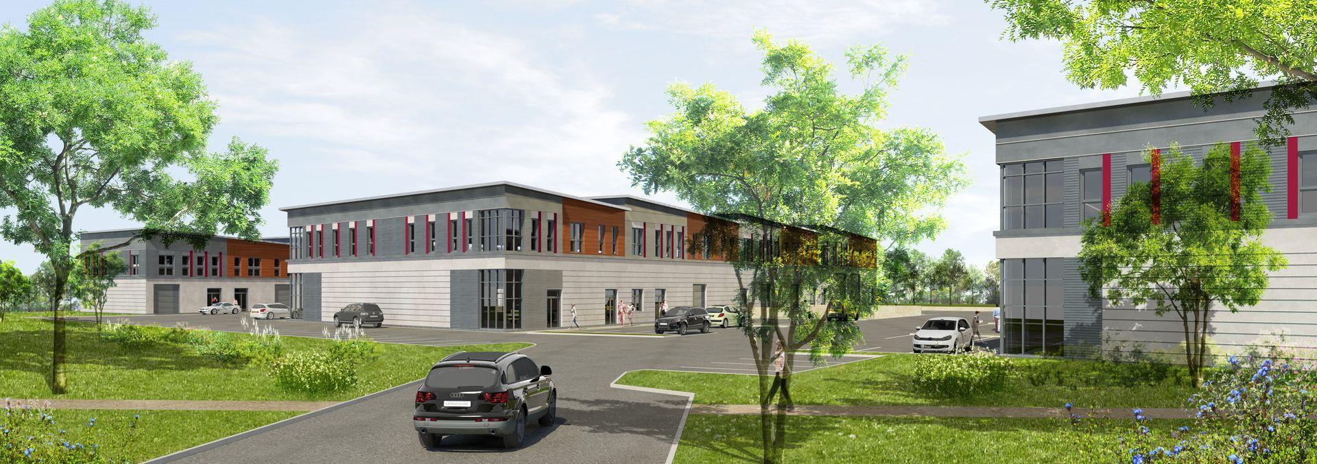 local d'activités de 401m², Feucherolles (Yvelines)