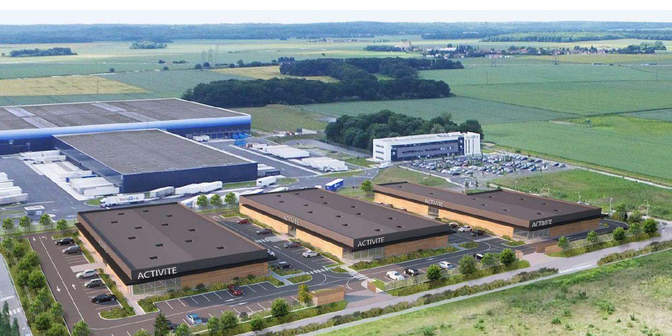 local d'activités de 96m², Saint-Fargeau-Ponthierry (Seine-et-Marne)