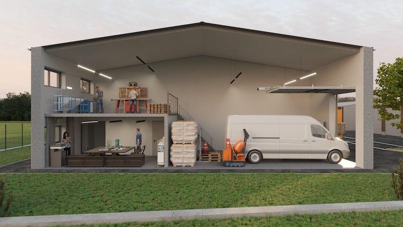 Local d'activités de 142 m², Combs-la-Ville (77380)