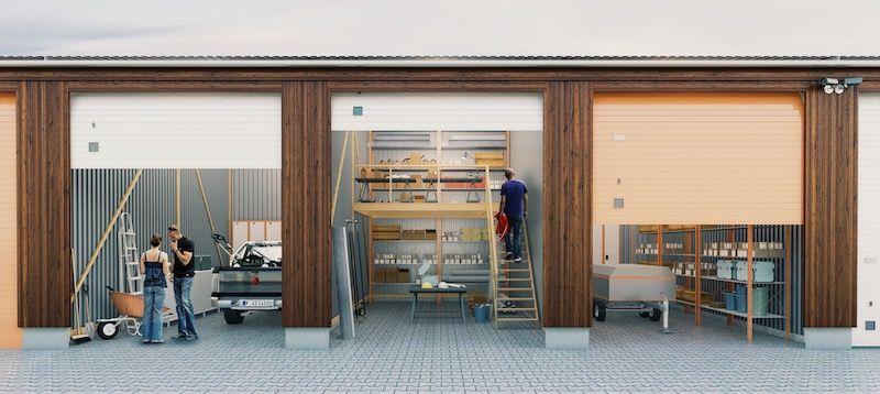 Entrepôt de 56 m², Combs-la-Ville (77380)