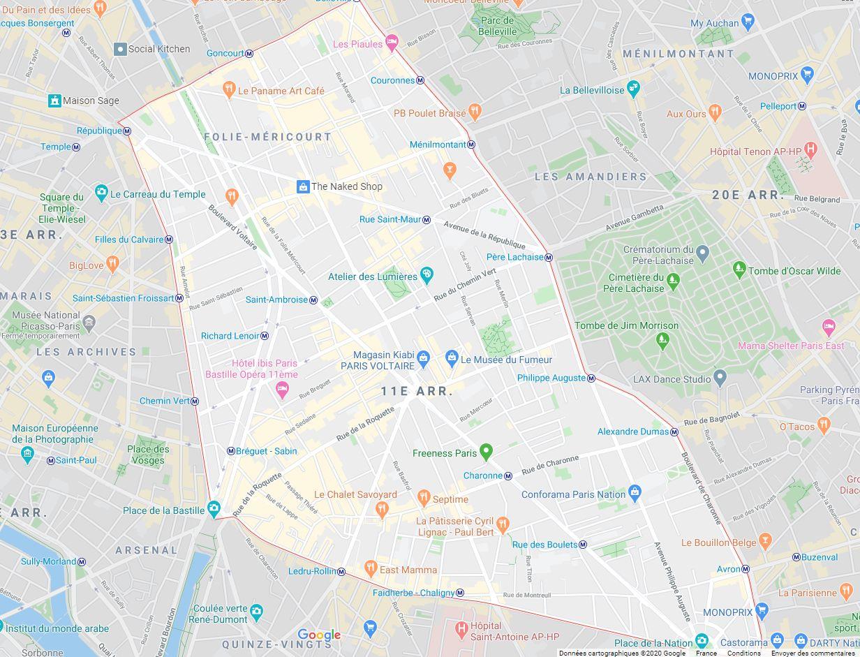 local commercial de 138m², Paris 11 (Paris)