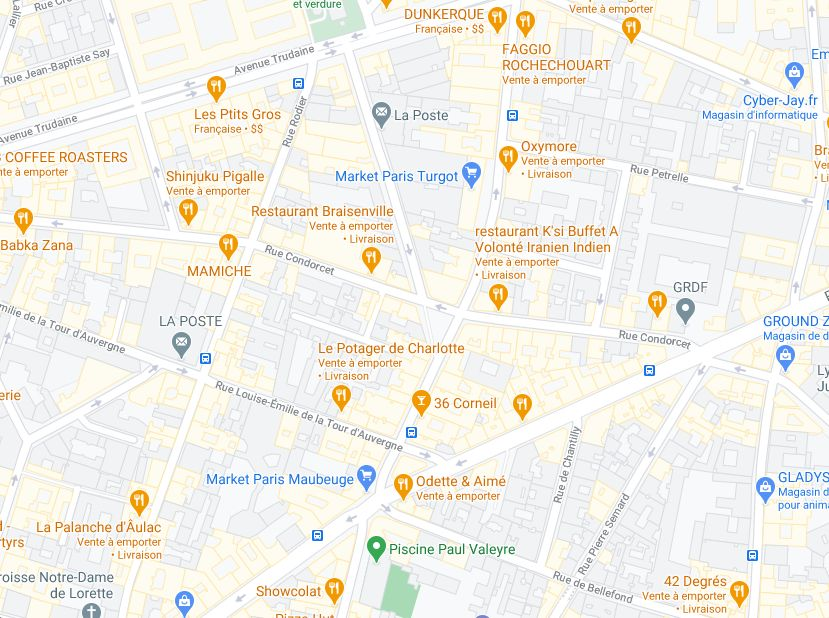local commercial de 125m², Paris 9 (Paris)